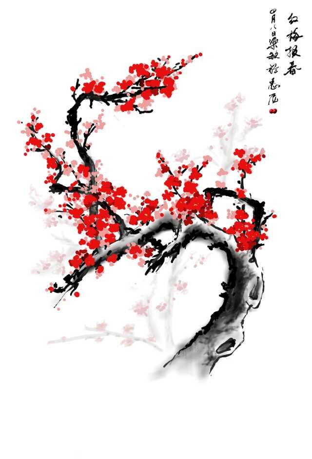 红梅报春(4.8)