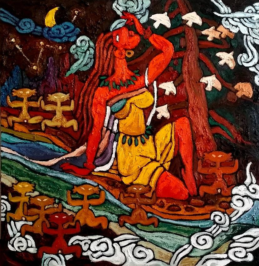 古典神话--女娲(830)