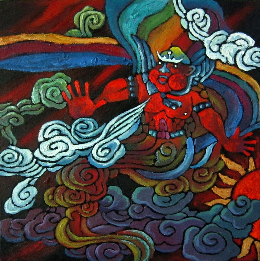 古典神话--风神(844)